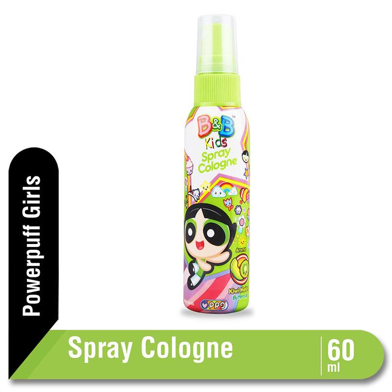 B&B Kids Spray Cologne Kiwi Melon 60 Ml