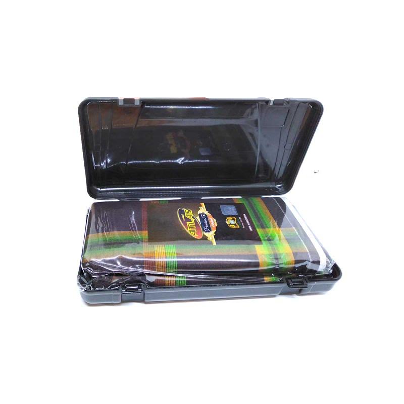 Atlas Sarung Tenun Premium Dengan Kotak Plastik