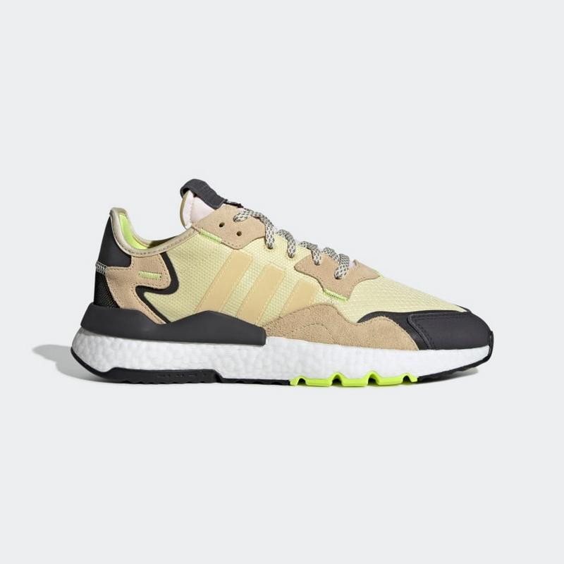 Adidas Nite Jogger Boost X Cordura Glow In The Dark Easy Yellow EE5868