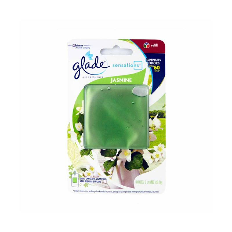 Glade Glass Scents Sensation Jasmine Ref 8G