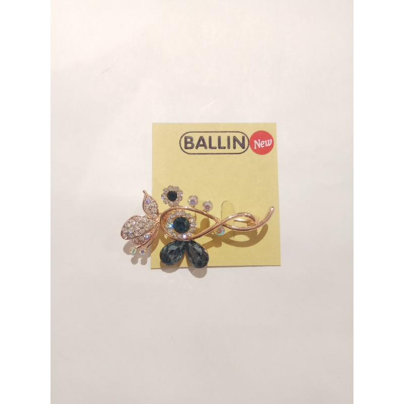 Ballin - Women Brooch LF BRXZ8070 8 Silver