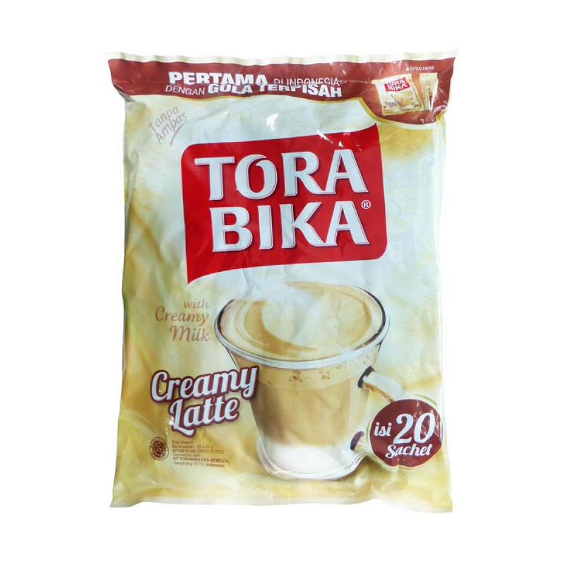 Torabika Creamy Latte Bag 20S
