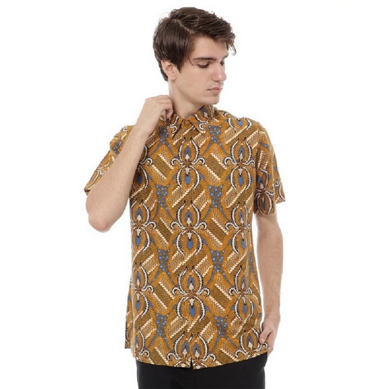 Batik Harni Hem Katun SF Lengan Pendek IMM001