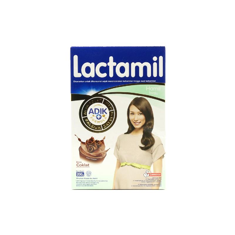 Lactamil Inisis Coklat Box 200Gr