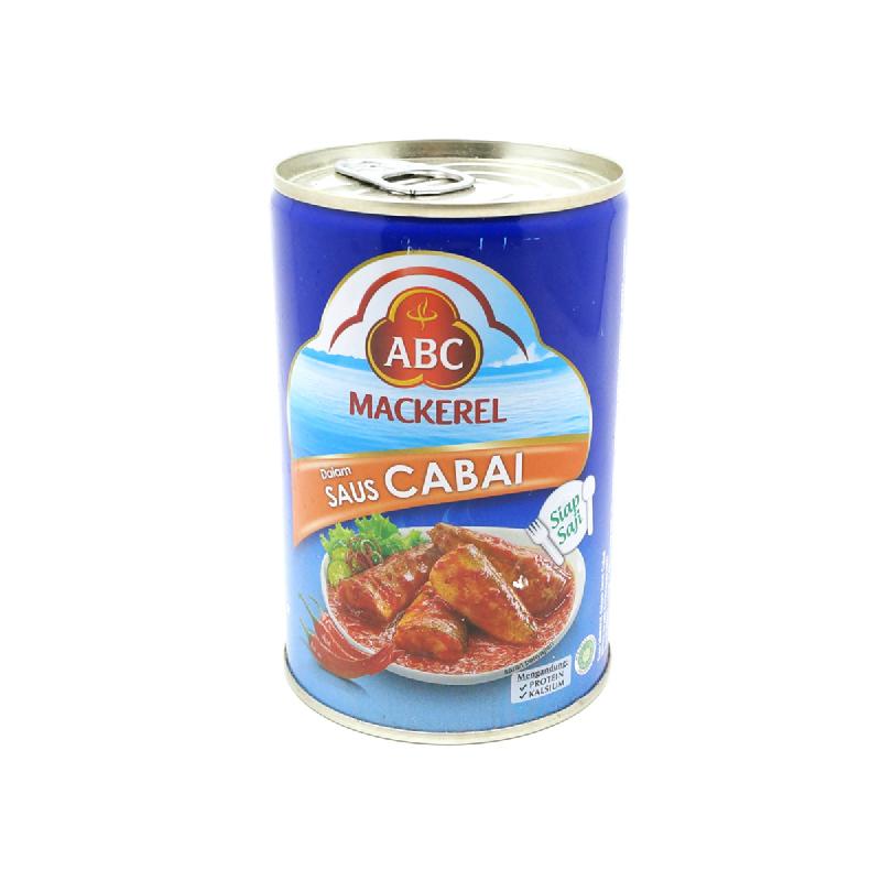 Abc Mackarel Chilli Kecil 155 Gram