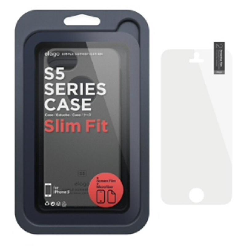 Elago Slimfit Case for iPhone SE, 5, 5S - SF Dark Gray