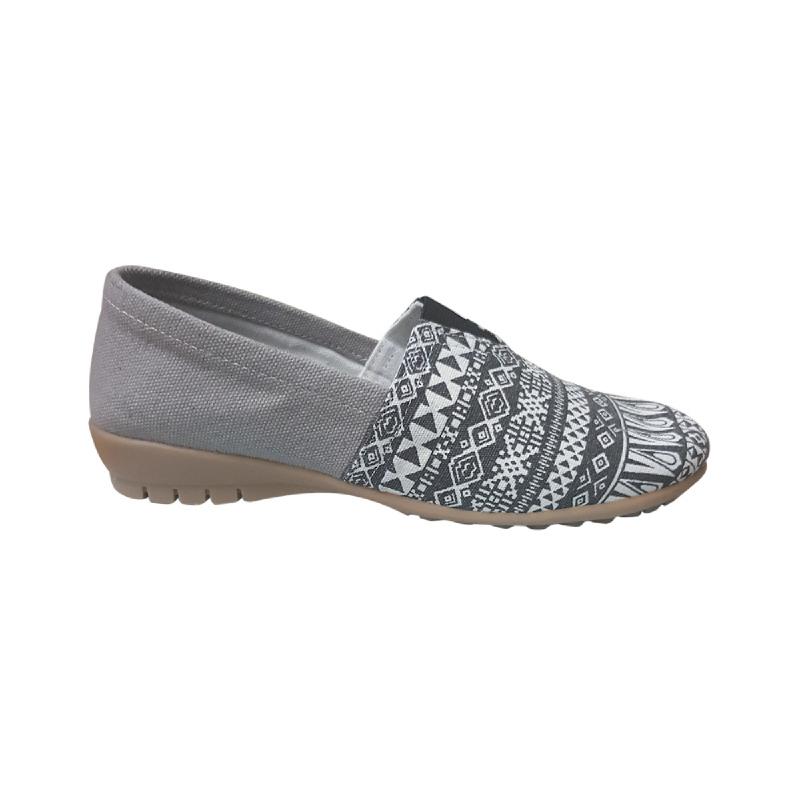 Anyolorich Ladies Slip On Grey