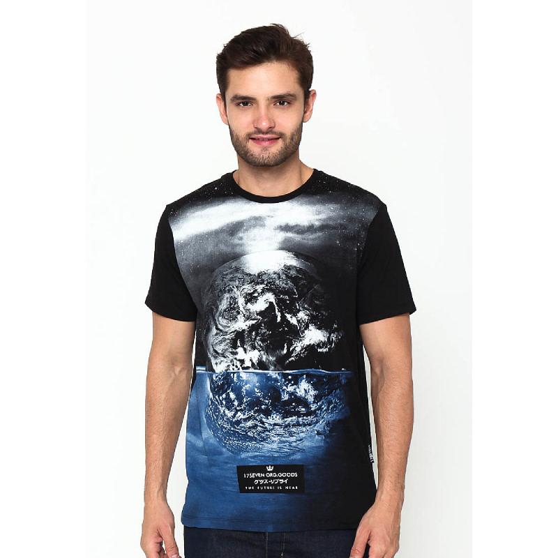 17Seven Siklus Men Tshirt Black