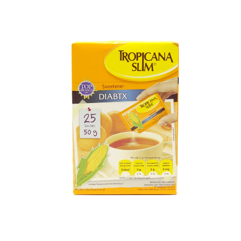 Tropicana Slim Sweetener Diabetic [2.0G X 25S]