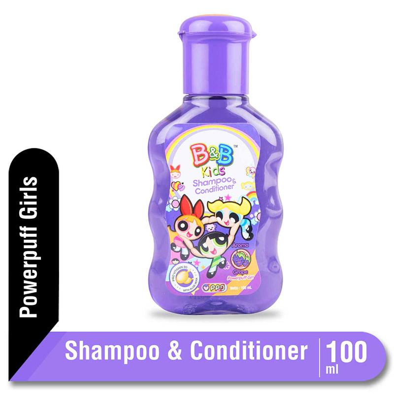 B&B Kids Shampoo and Conditioner Grape 100 Ml