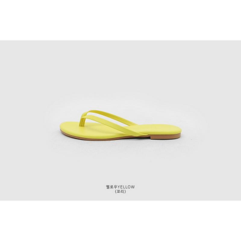 SAPPUN Kamishu Daily Flip-Flop (1cm) - Yellow