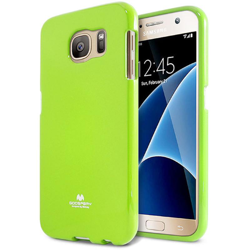 Goospery Jelly Case for Samsung Galaxy S7 - Hijau