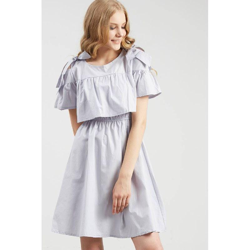 Francois Seelze Dress in Grey