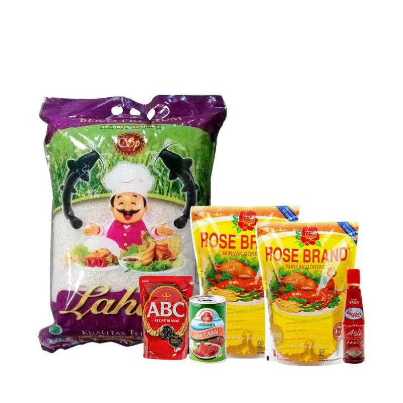 Paket Lotte Mart Rp 125.000 (Dapat 6 Produk)