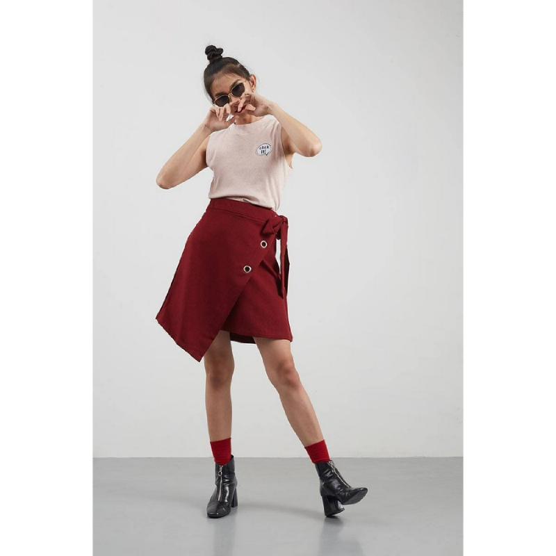 Berthena Skirt Red