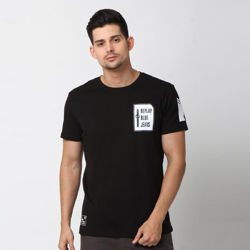 RBJ Tshirt Pria 25677038 Hitam