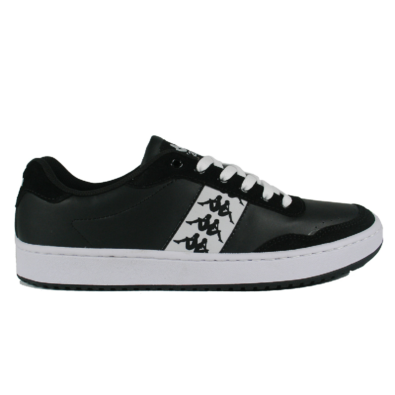 Kappa Miguel 2 Sneaker Shoes Pria - Black White