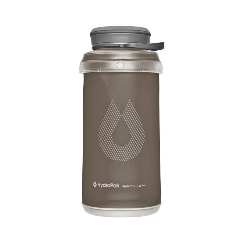 Hydrapak Stash 1Liter - Botol Minum Lipat Grey
