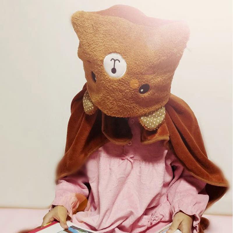Artbox Cute Character Cape Blanket Jubah Selimut Beruang 1854850