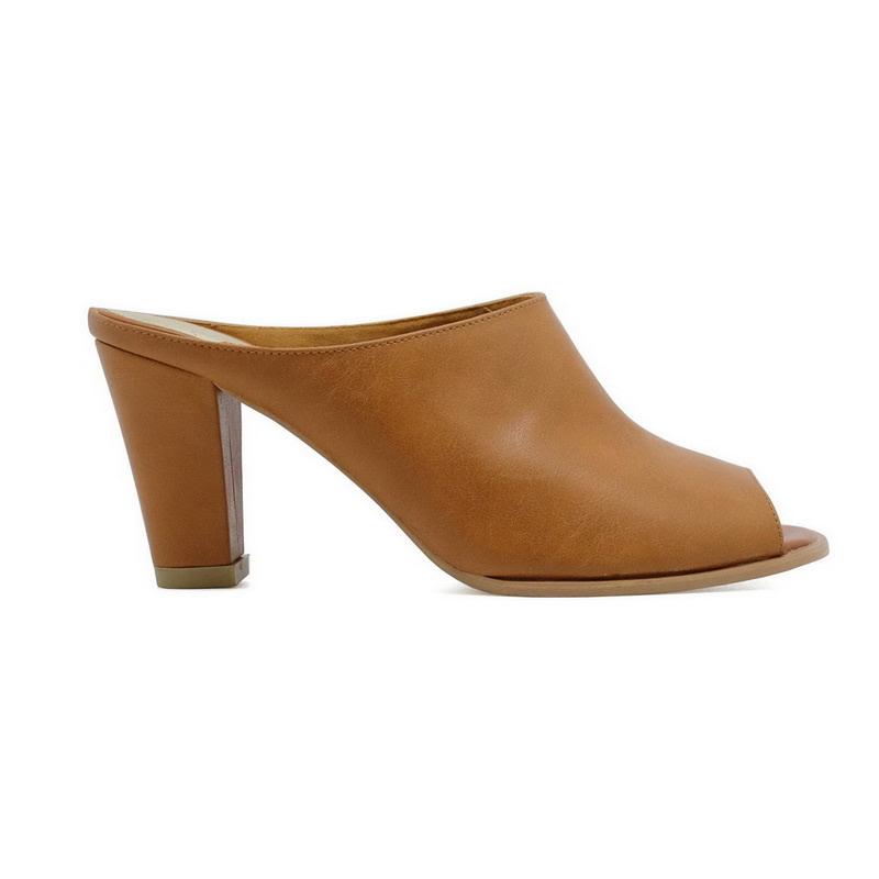 Apple Green Delta Heelss Brown