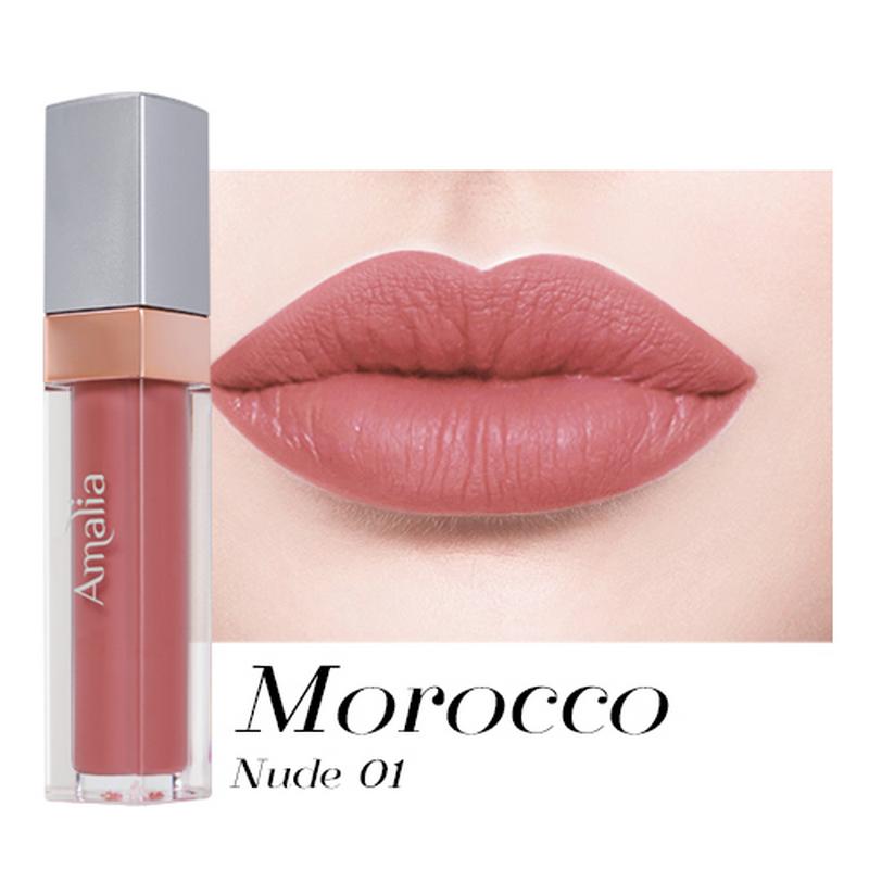 Amalia Matte Lip Cream Morocco Nude 01