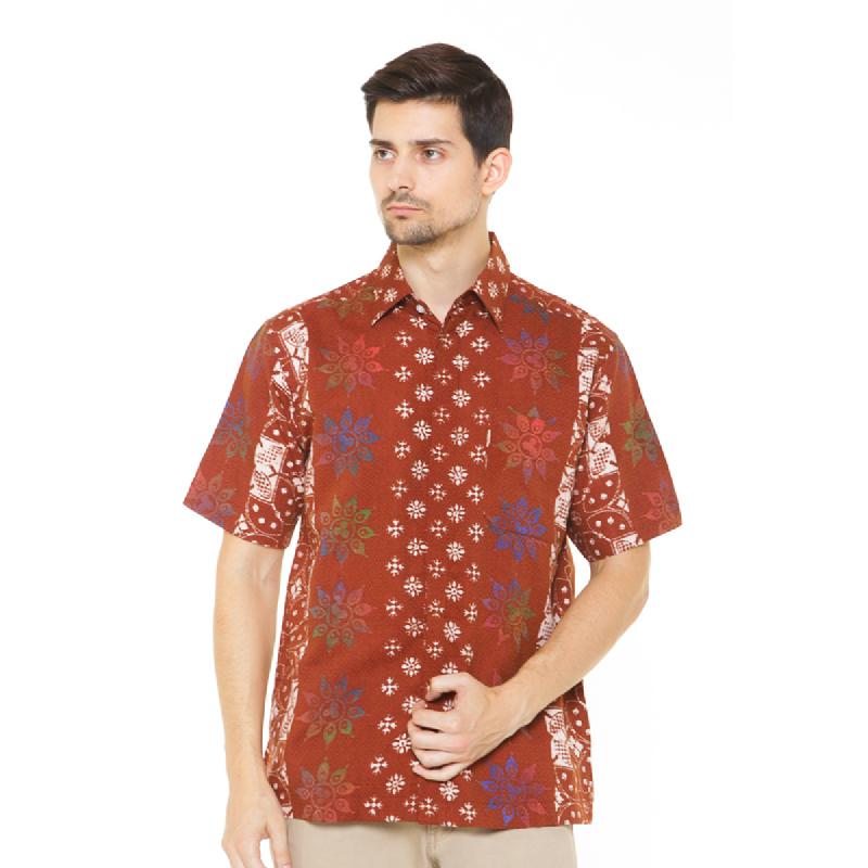 Agrapana Batik Lengan Pendek 306.01.847.14.Coklat