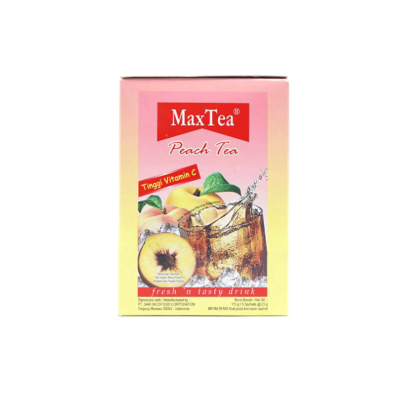 Maxtea Peach Tea 5 X 25 Gr