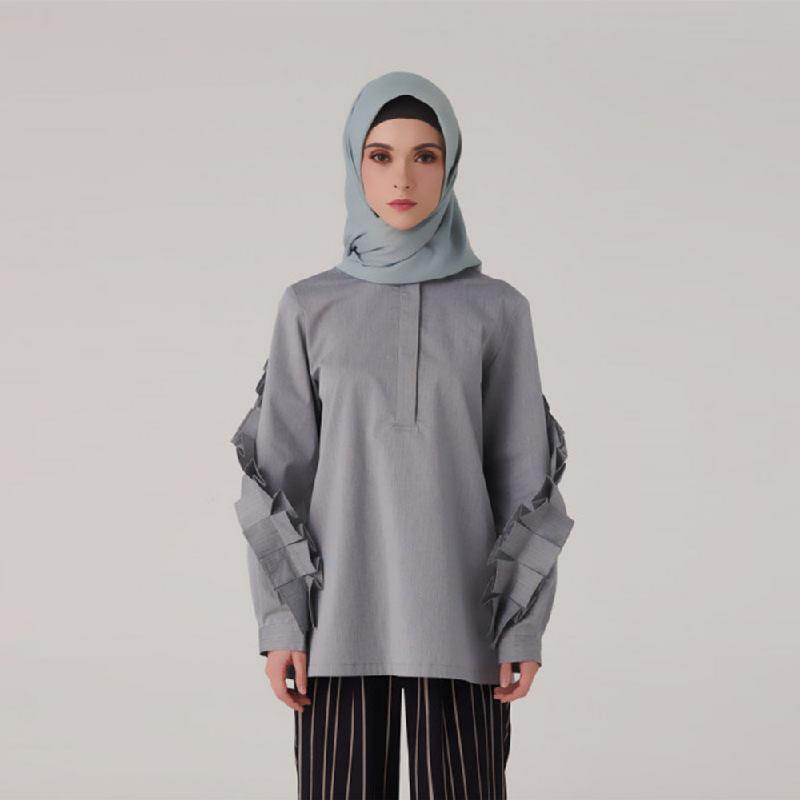 Suqma Fisher Blouse Grey