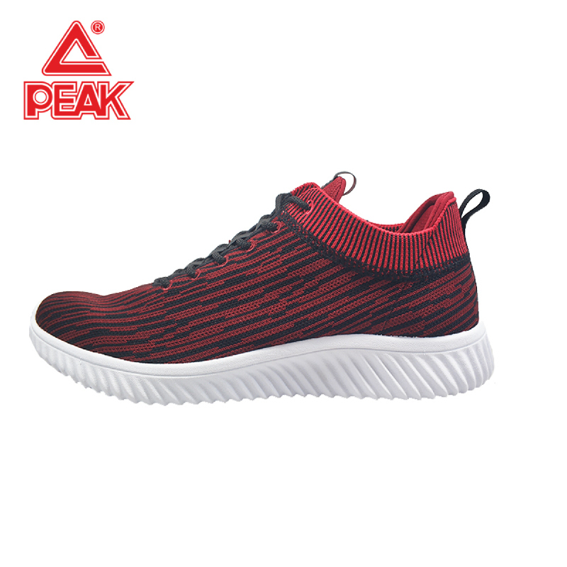 Peak Casual Shoes E81357E Dk.Red Black