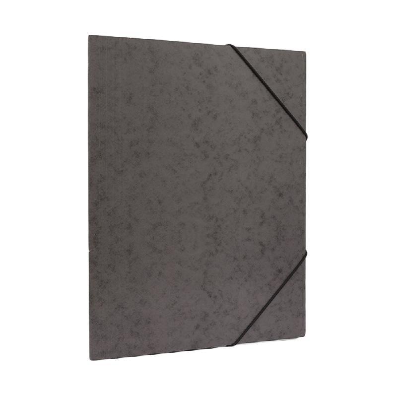 Bantex Cardboard Document File A4 Black -3450 10