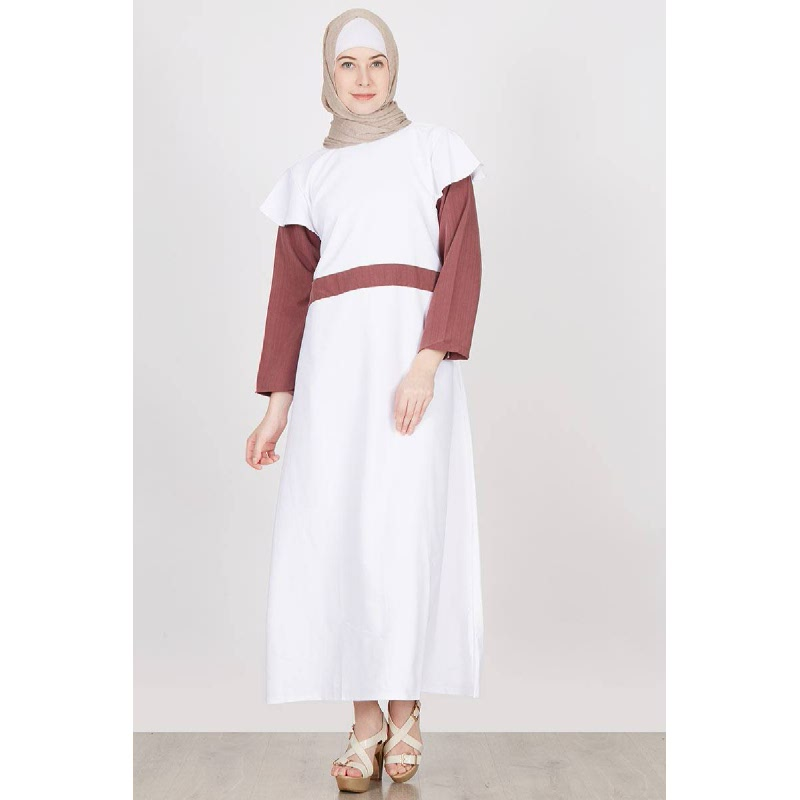Alula Dress White