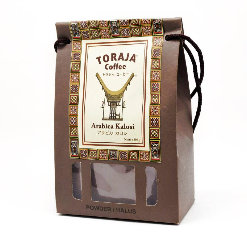 TORAJA ARABICA KOLASI PAPERBAG HALUS 200