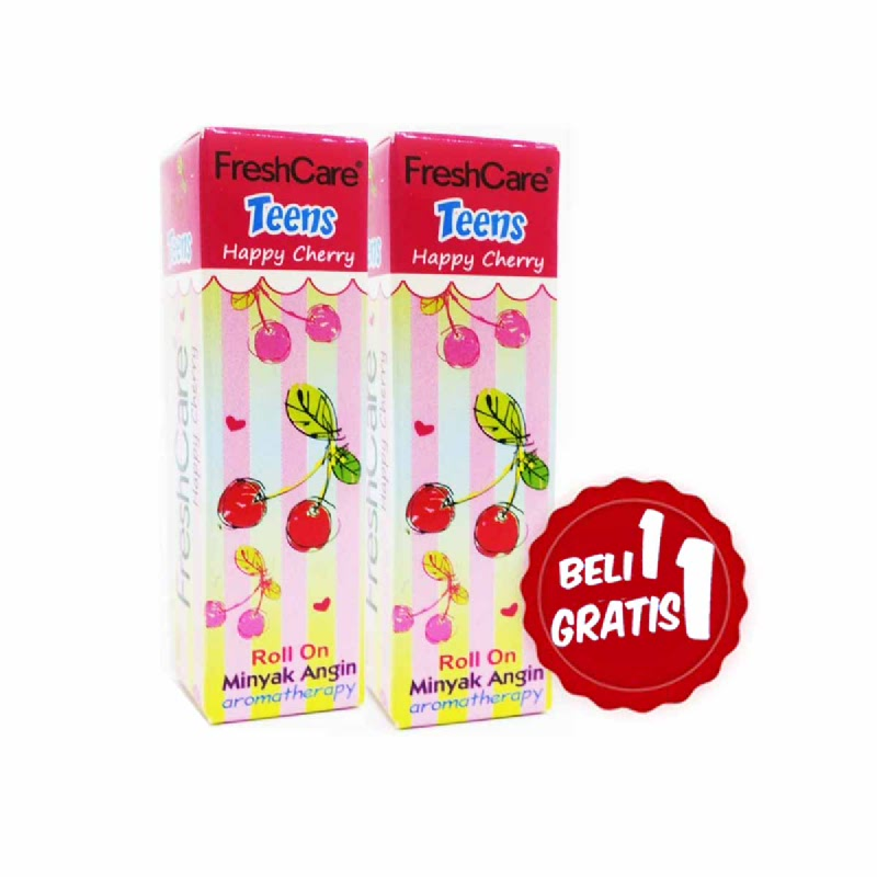 Freshcare Teens Happy Cherry 10 Ml (Buy 1 Get 1)
