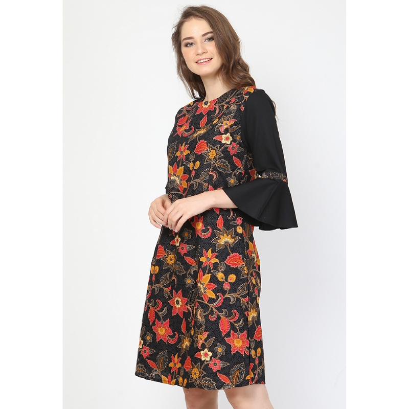 Aksa Batik Aine Callia Dress Black