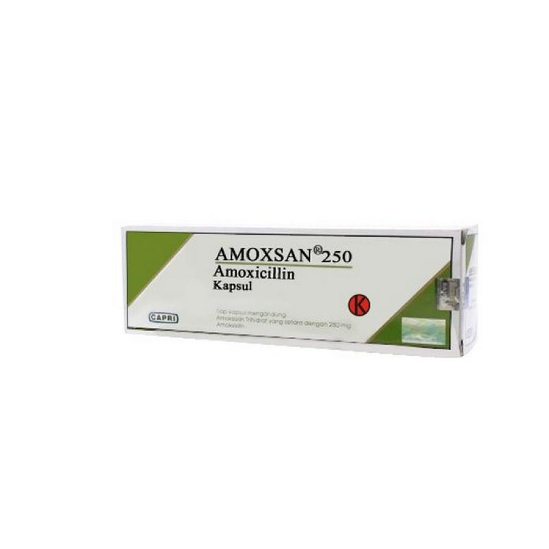 Amoxsan 250 mg Kapsul