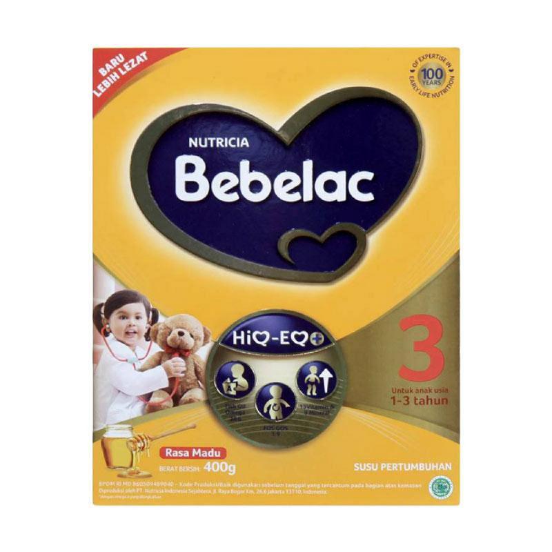 Bebelac Gold 3 Madu Box 360G