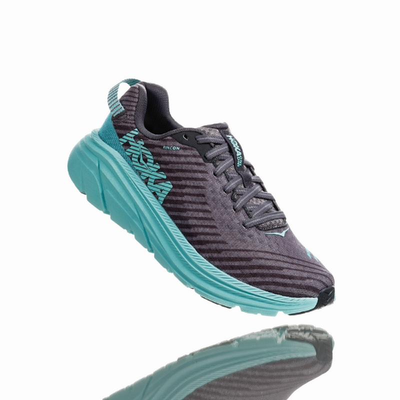 Hoka One One Rincon Women Running Shoes Grey