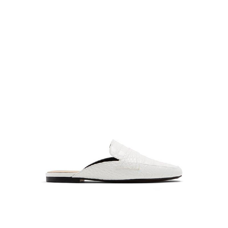 Aldo Ladies Sandals Mules Delilmadia 100 White