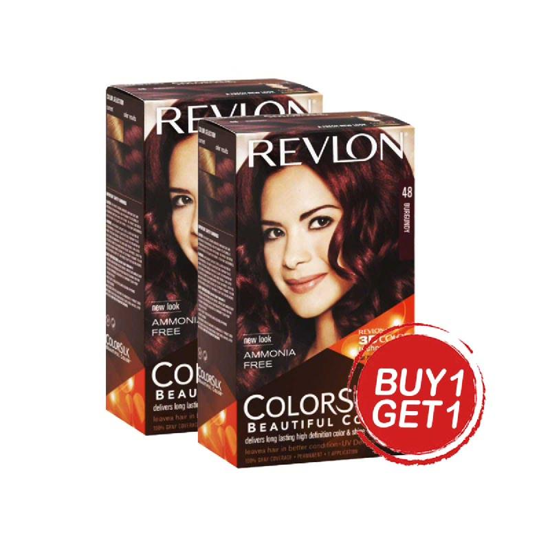 Revlon Colorsilk Burgundy (48 4B) 59.1Ml (Buy 1 Get 1)