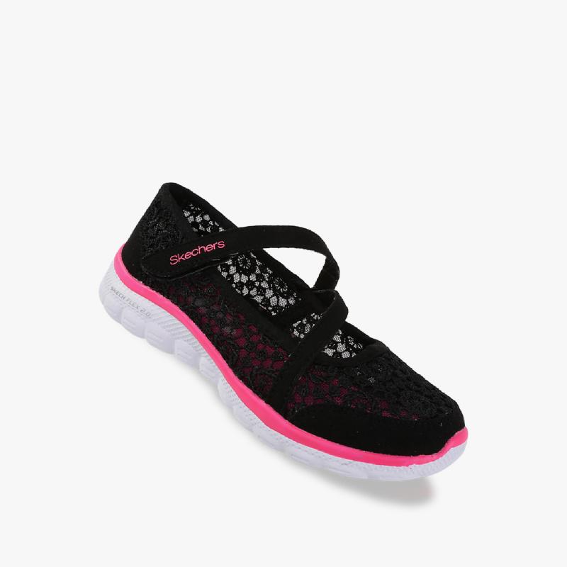 Skechers Skech-Flex Ii Girl Sneakers Shoes Black