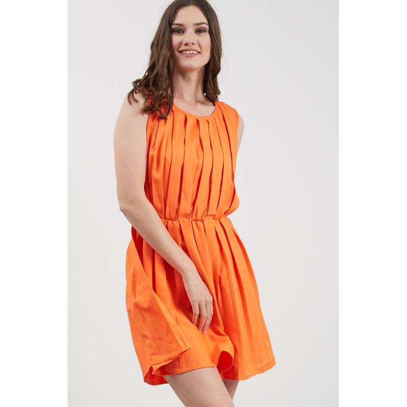 GW Greben Dress in Orange