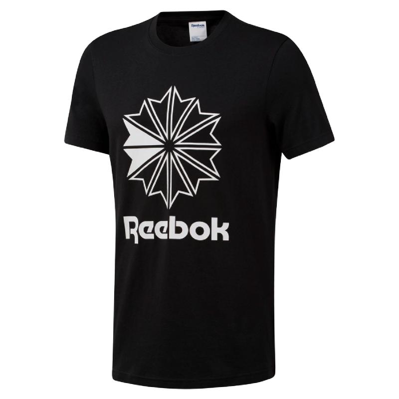 Reebok Classic Big Logo Men Tee - Black
