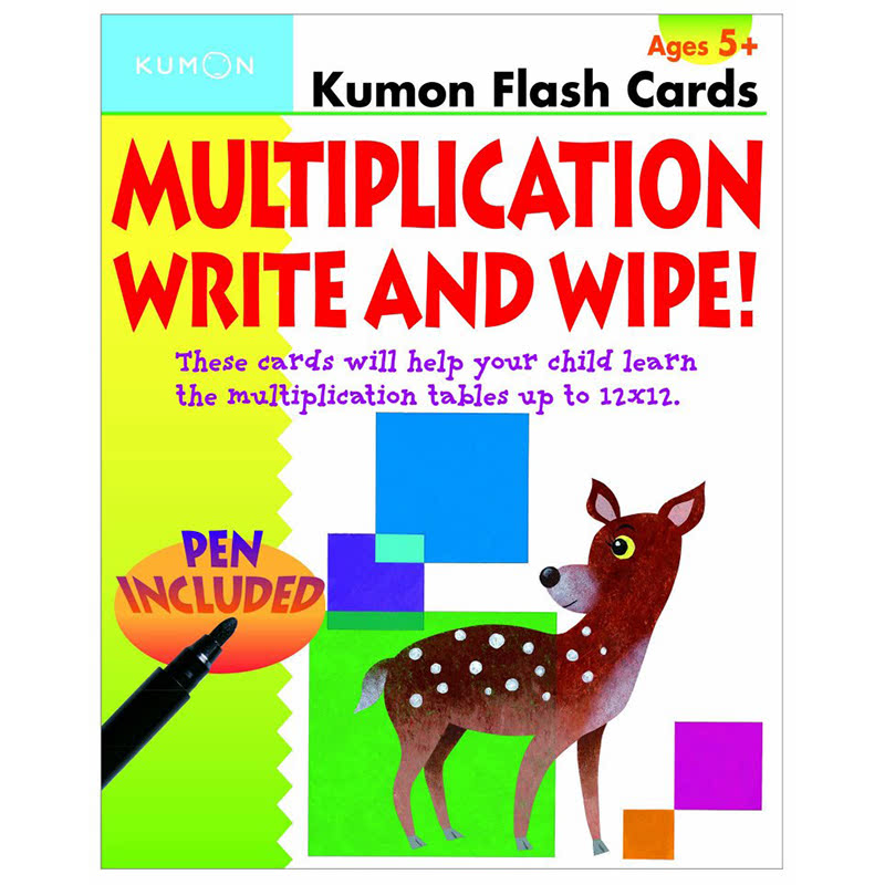 Kumon Multiplication Write & Wipe