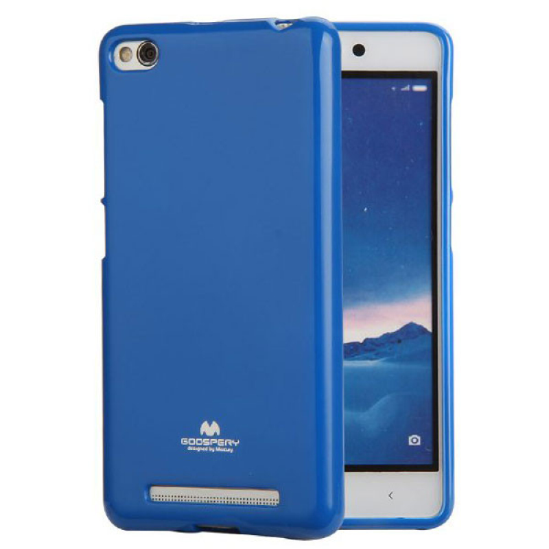 Goospery Jelly Case for Xiaomi Merahmi 3 - Biru