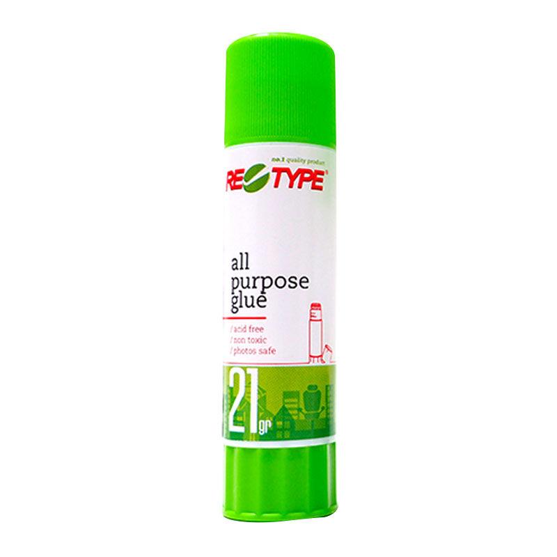 Retype Glue Stick 21gr  - 12Pcs