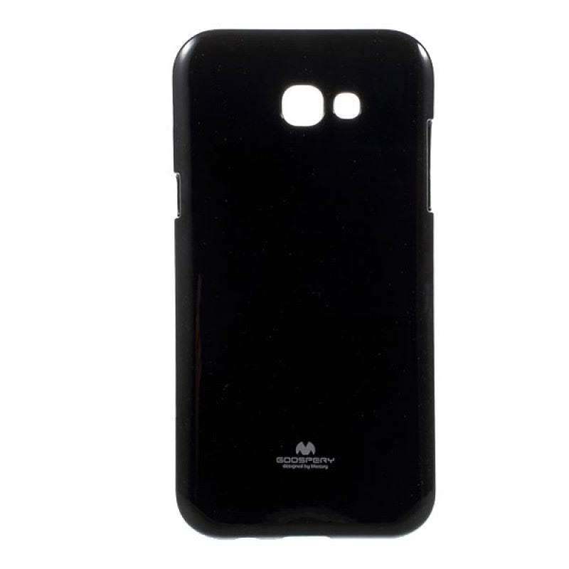 Goospery Jelly Case Samsung Galaxy A3 2017 - Hitam