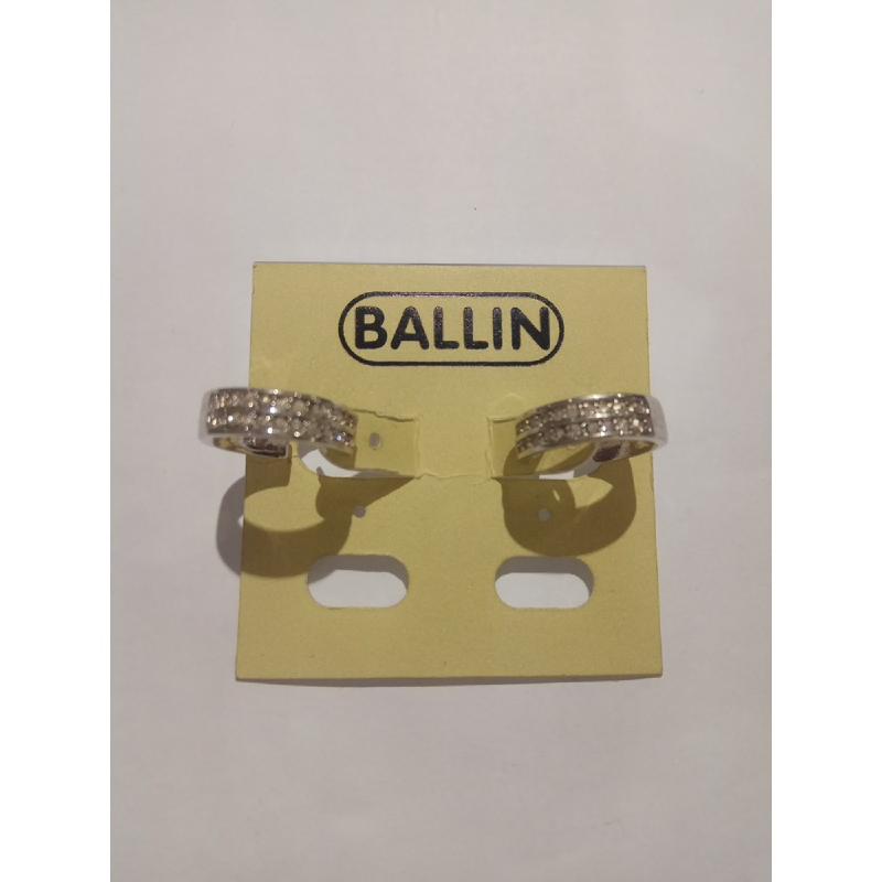 Ballin Women Earing GD-E8356S Silver