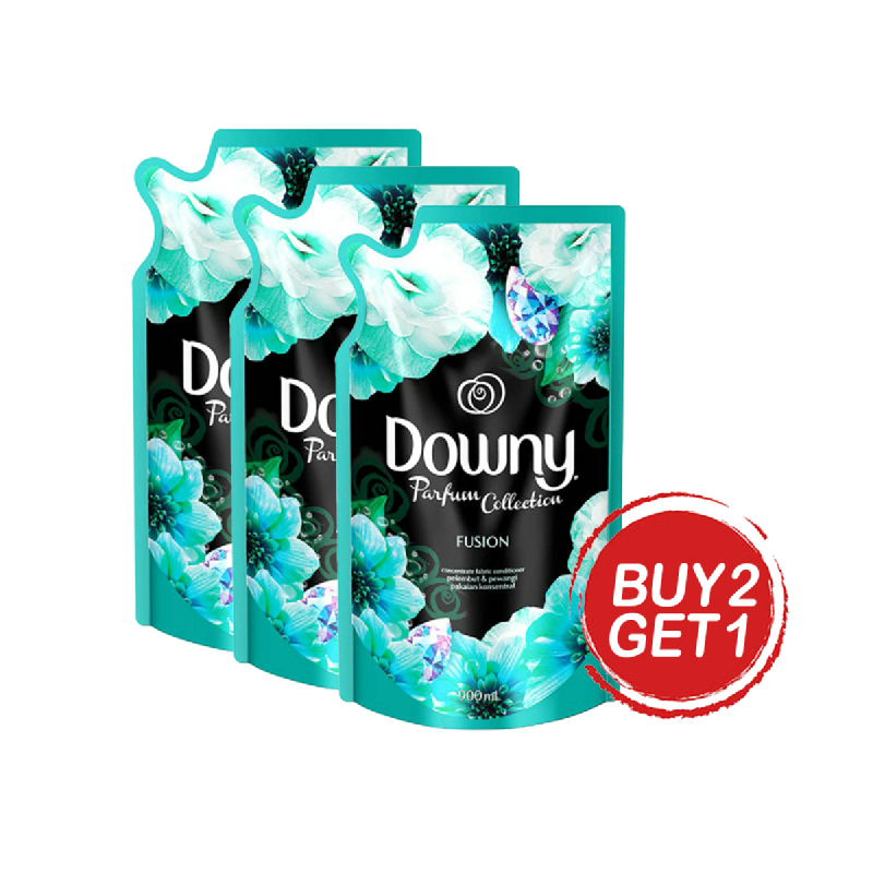 Downy Parfume Collection Fusion Reffil 720 Ml (Buy 2 Get 1)