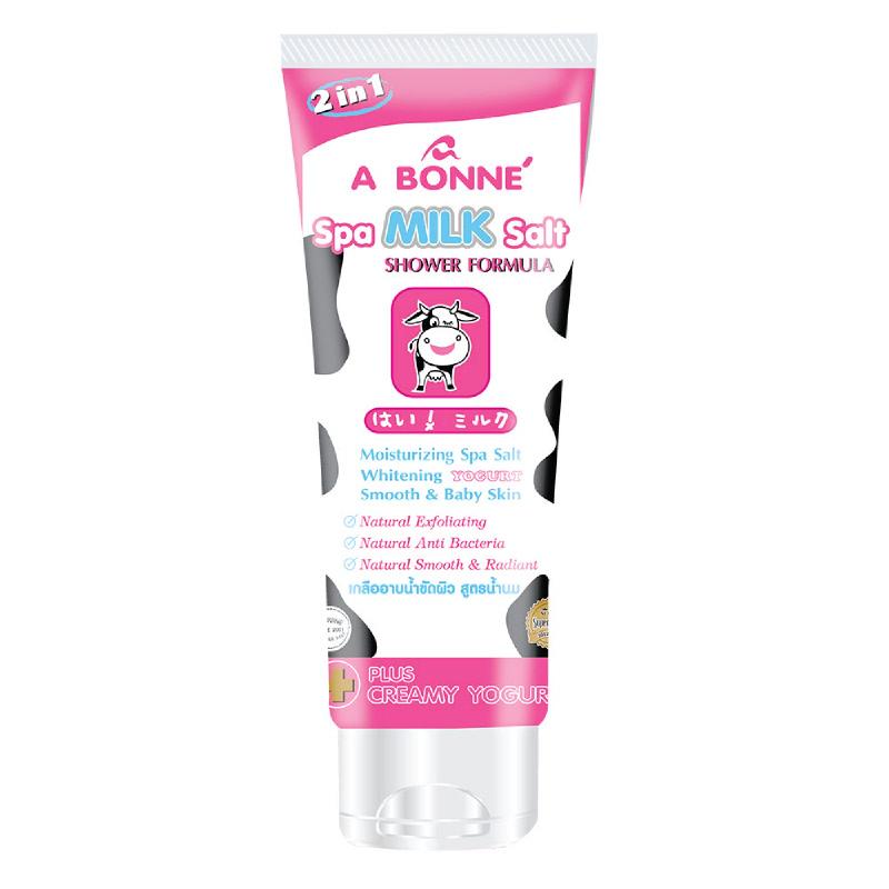 A Bonne Spa Milk Salt Shower Formula