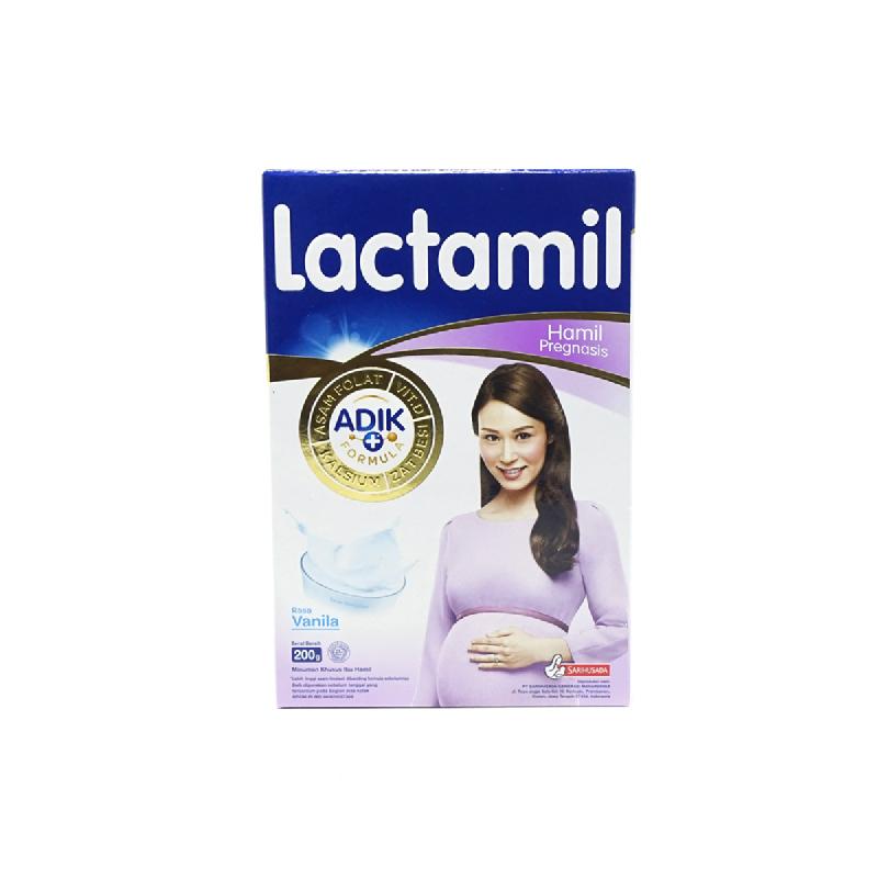 Lactamil Pregnasis Vanila Box 200gr